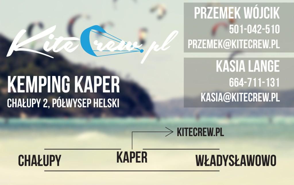 kitecrew szkoła kite kemping kaper 2