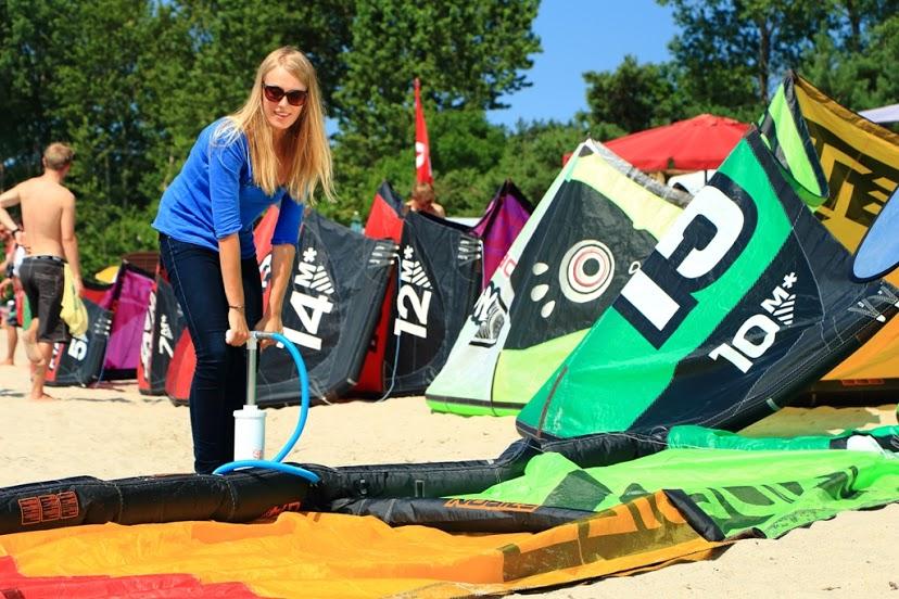 szkola kitesurfing kursy kite kitecrew