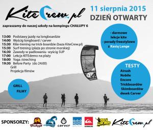 event Kite Crew testy dni otwarte