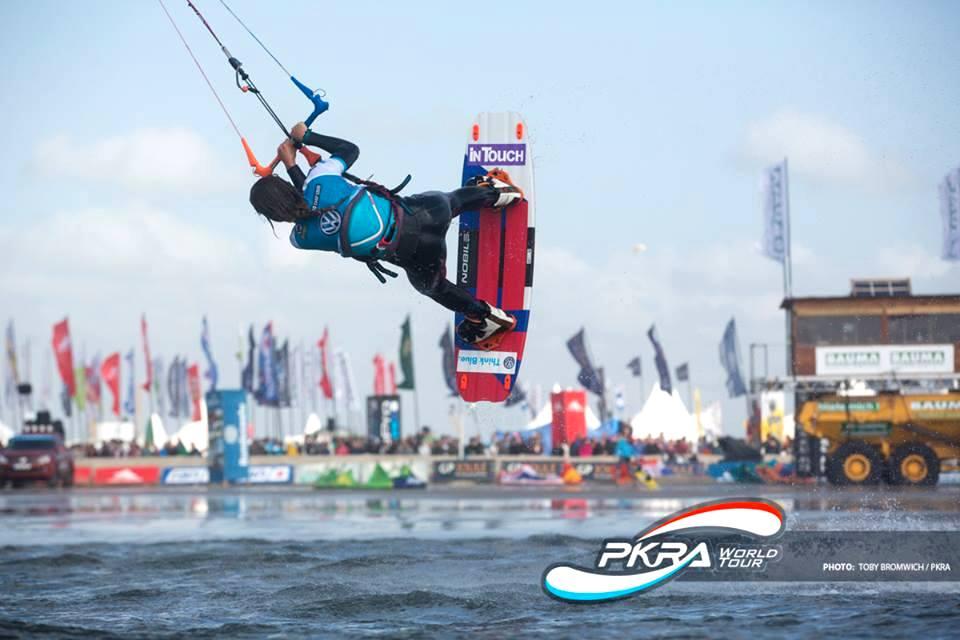 katarzyna lange kiteboarding