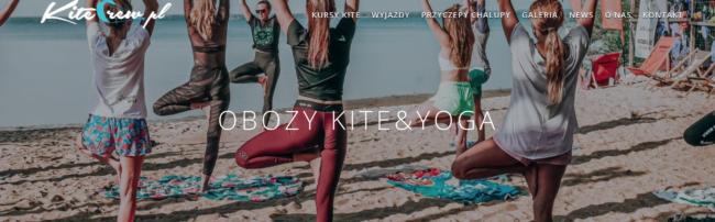 obozy kite&yoga warsztaty jogowe kurs jogi