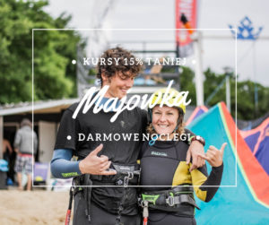 majówka 2019 szkoła kitesurfingu kursy kite kitecrew