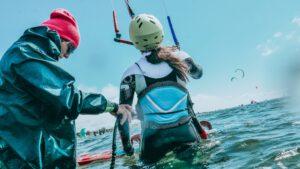 promocja na kurs kitesurfingu taniej z noclegiem kitecrew